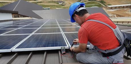 Test Performance Photovoltaïque